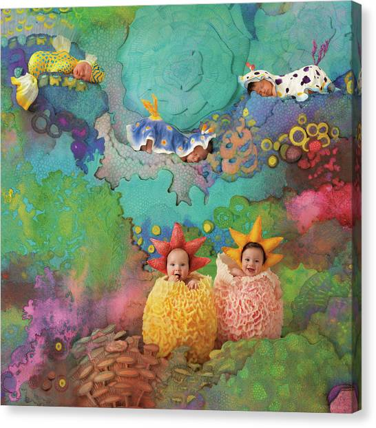 Coral Reefs Canvas Print - The Great Barrier Reef by Anne Geddes