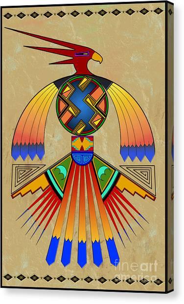 The Great Bird Spirit Canvas Print