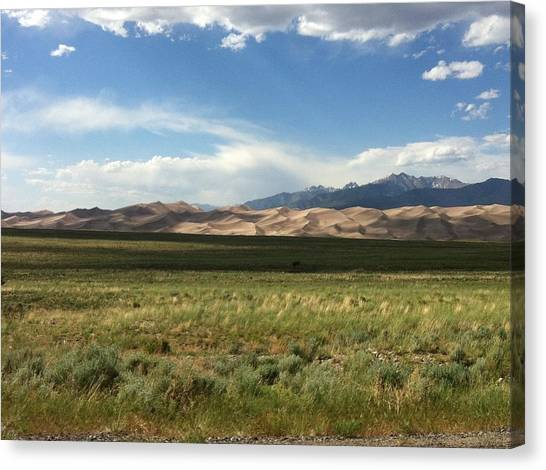 The Great Sand Dunes Canvas Print