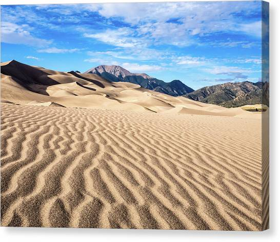 The Great Sand Dunes Of Colorado Canvas Print