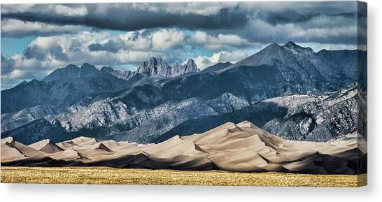The Great Sand Dunes Panorama Canvas Print