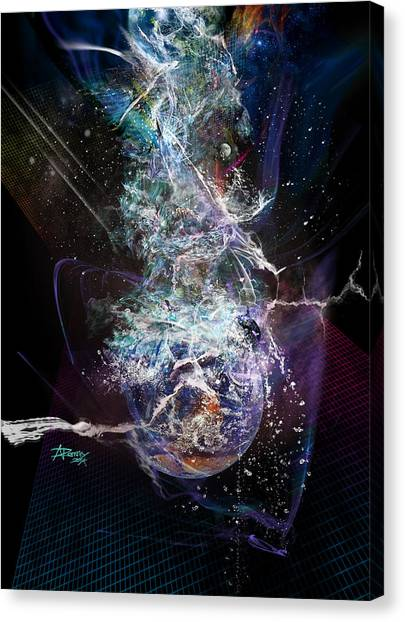 The Great Shift Of Humanity Canvas Print