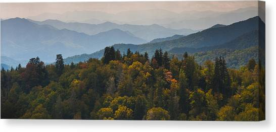 The Great Smokey Mountains Canvas Print