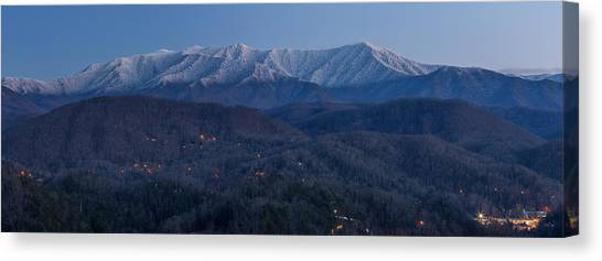Gatlinburg Tennessee Canvas Print - The Great Smoky Mountains by Everet Regal