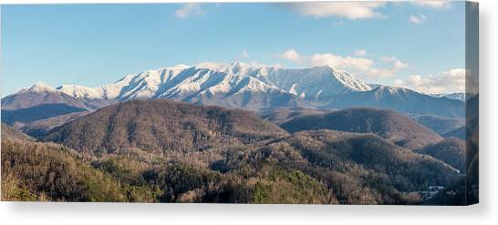 Gatlinburg Tennessee Canvas Print - The Great Smoky Mountains II by Everet Regal