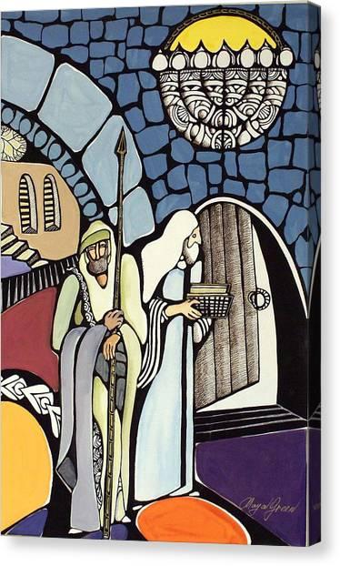 The Great Synagogue Of Jerusalem  Canvas Print by Maya Green