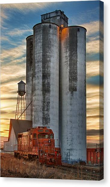 The Great Western Sugar Mill Longmont Colorado Canvas Print