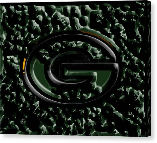 Reggie White Canvas Print - The Green Bay Packers 2b by Brian Reaves