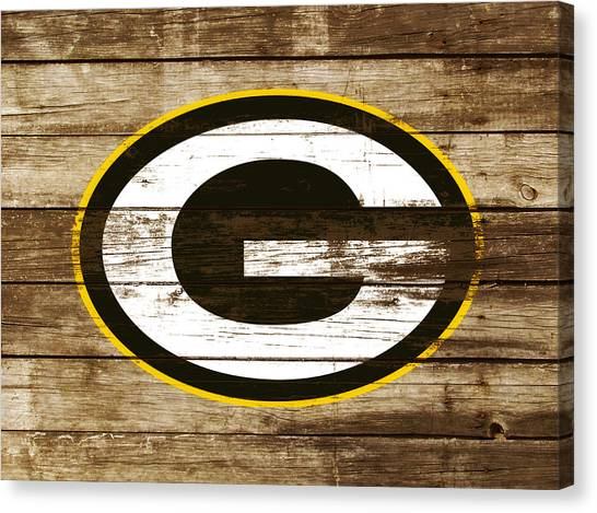 Reggie White Canvas Print - The Green Bay Packers 3a    by Brian Reaves