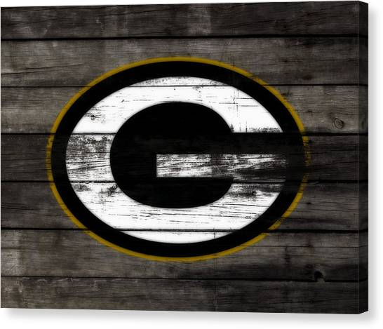 Reggie White Canvas Print - The Green Bay Packers 3b    by Brian Reaves