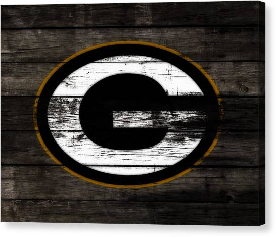 Reggie White Canvas Print - The Green Bay Packers 3e    by Brian Reaves