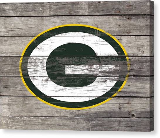 Reggie White Canvas Print - The Green Bay Packers 3i    by Brian Reaves
