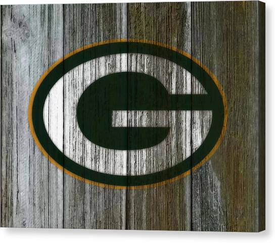 Reggie White Canvas Print - The Green Bay Packers 7e by Brian Reaves