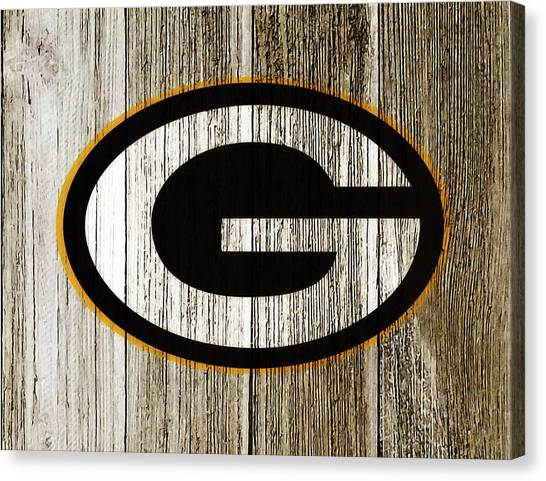 Reggie White Canvas Print - The Green Bay Packers 7g    by Brian Reaves