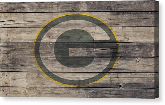Reggie White Canvas Print - The Green Bay Packers W1 by Brian Reaves