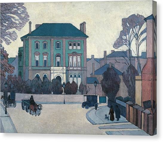London Canvas Print - The Green House, St John's Wood by Robert Bevan