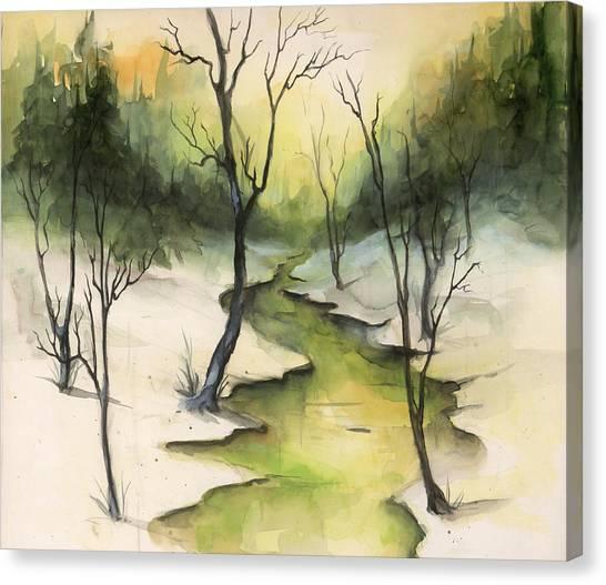The Greenwood Canvas Print