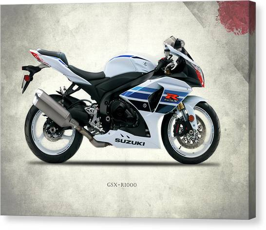 Suzuki Canvas Print - The Gsx-r1000 by Mark Rogan