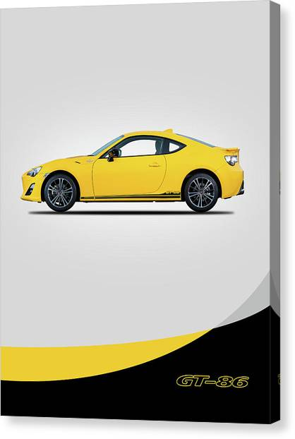 Toyota Canvas Print - The Gt-86 by Mark Rogan