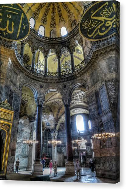 The Hagia Sophia Canvas Print