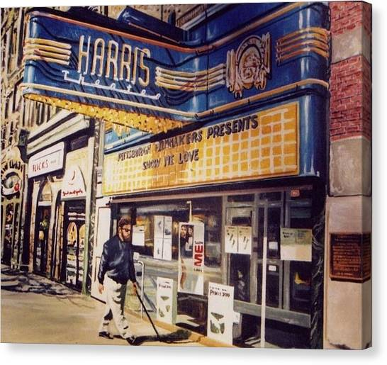 The Harris Theater Canvas Print
