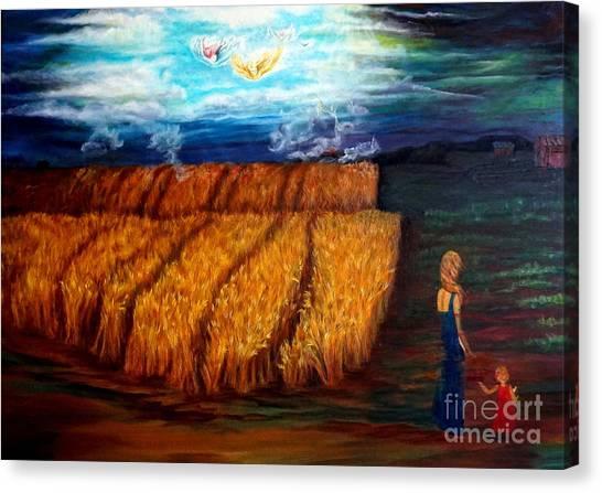 The Harvest Canvas Print