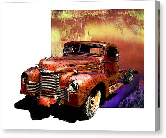 The Harvester Canvas Print