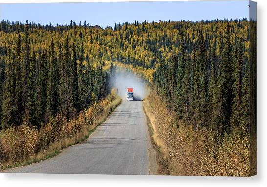 The Haul Road Canvas Print