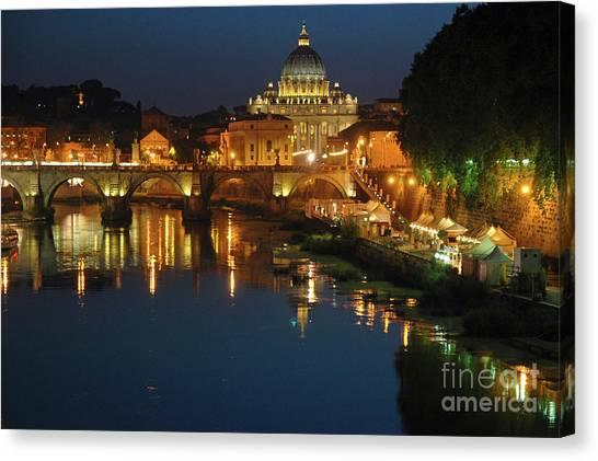 Eternal Sound Of Rome Canvas Print