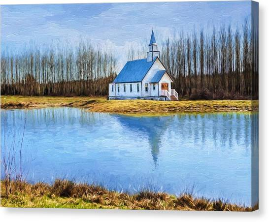 The Heart Of It All - Landscape Art Canvas Print