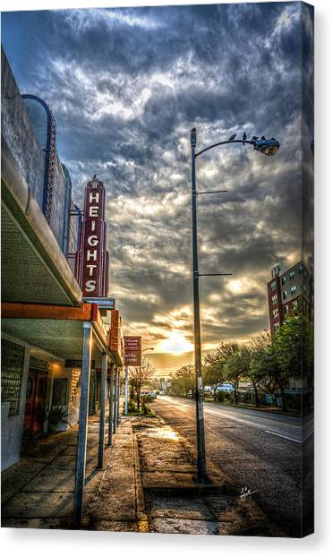 The Heights At Morning Light Canvas Print