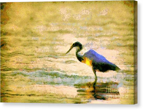 The Herons Canvas Print