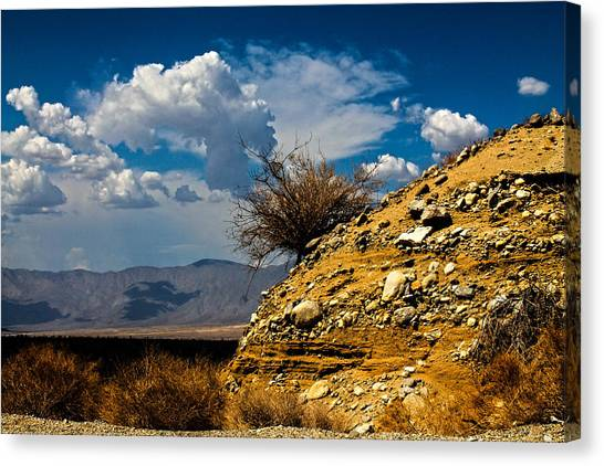 Canvas Print featuring the photograph The Hilltop by Break The Silhouette