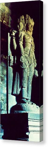 The History Temple Canvas Print by Mario Bennet