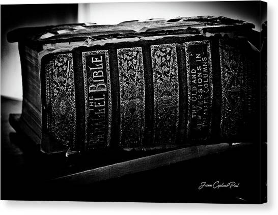 The Holy Bible Canvas Print