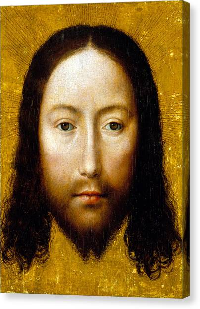 Shrouds Canvas Print - The Holy Face by Flemish School