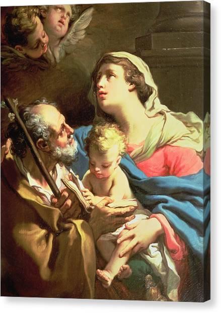 18th Century Canvas Print - The Holy Family by Gaetano Gandolfi