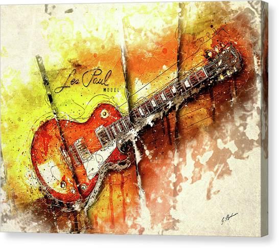 Van Halen Canvas Print - The Holy Grail V2 by Gary Bodnar