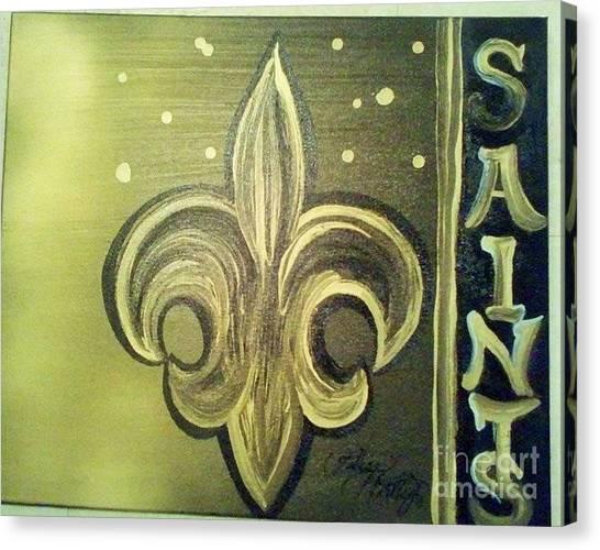 The Holy Saints Canvas Print