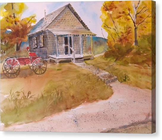 The Home Place Canvas Print by Kris Dixon