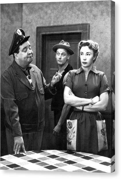 Canvas Print - The Honeymooners 1950s by Mountain Dreams