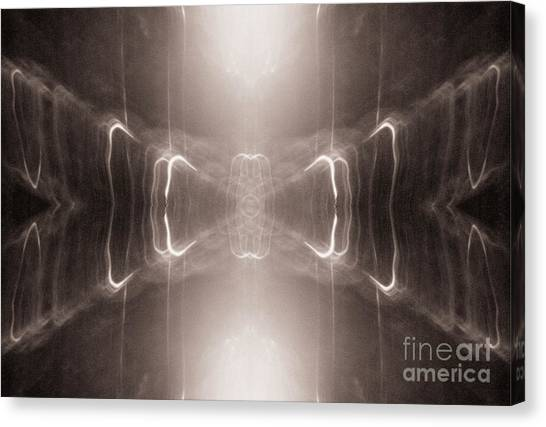 Canvas Print featuring the photograph The Hourglass by Patricia Youngquist