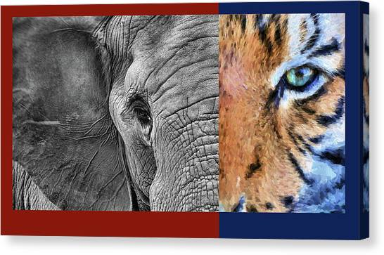 Conference Usa Canvas Print - The House Divided by JC Findley