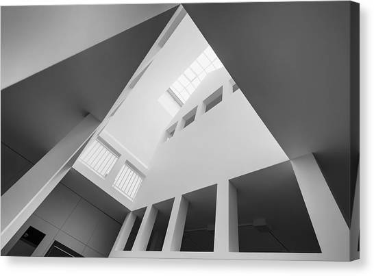 Museums Canvas Print - The House In The House by Gerard Jonkman