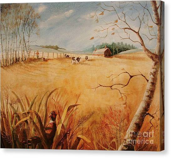 Canvas Print - The Hunt by Marilyn Smith