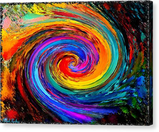 The Hurricane - Abstract Canvas Print