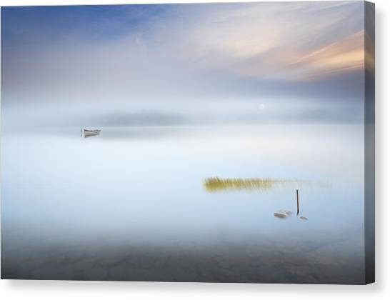 Mood Canvas Print - The Hush by Martin Marcisovsky