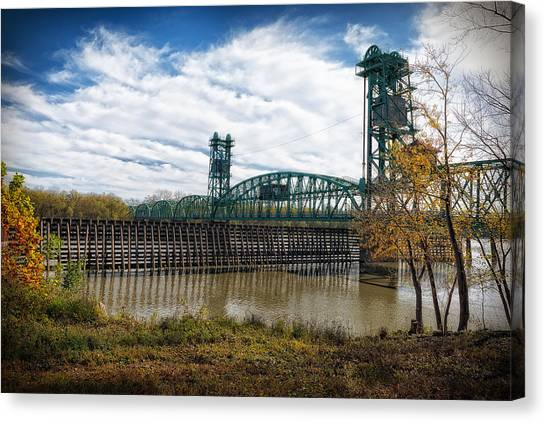 The Illinois River Canvas Print