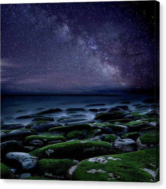 The Immensity Of Time Canvas Print