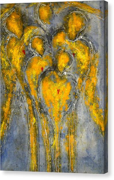 The Immortal Guardians Of Mortals Canvas Print